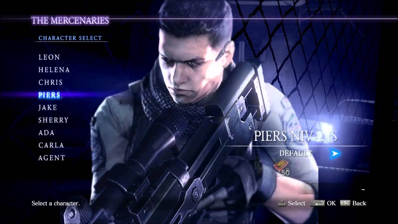 Resident Evil 6 All Costumes Youtube