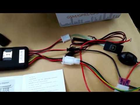 Настройка,обзор,подключение GPS Tracker ACCURA GT 06
