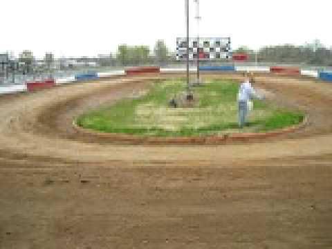 Dirt Track Checkered Flag