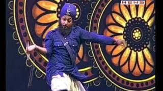 Gatka Performance At 300th Shaheedi Samagam Of Baba Banda Singh Bahadur Ji At Delhi