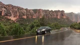 Zion National Park - Flash Flood in Three Stages