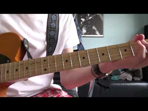 ROLLING STONES : ALL DOWN THE LINE : LIVE VERSION : GUITAR LESSON