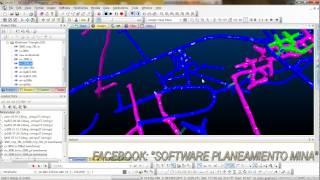 CURSO INTERMEDIO - PLANEAMIENTO MINA - DATAMINE 3D - MODELADO 3D - SECCIONES CORTO PLAZO