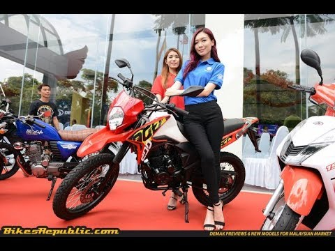6 New Demak models launched in Malaysia!