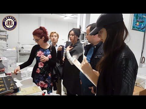 Printmaking Laboratory at Albanian University - Tirana #4