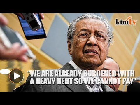Mahathir: ECRL could cost more than RM100b, it will impoverish us