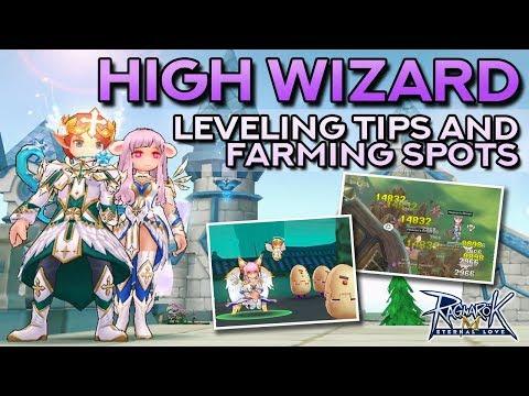 HIGH WIZARD GUIDE: Leveling Tips And Farming Spots | Ragnarok Mobile Eternal Love