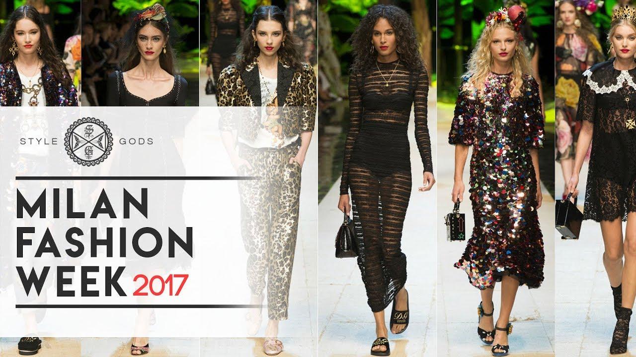 Milan Fashion Week 2017 Milan Summer Fashion Week 2017 Style Gods Youtube