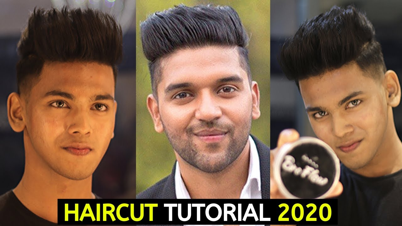 Guru Randhawa Hairstyle   Men Haircut Tutorial 2020 Using ...