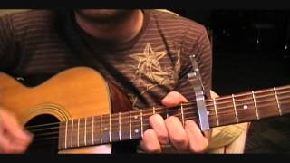 How to play Taylor Swift Safe & Sound on guitar easy tutorial