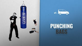 Up To 50% Off Boxing Protective Gear & Punching Bags: AURION SRF Unfilled 36 Handrap Punching Bag,