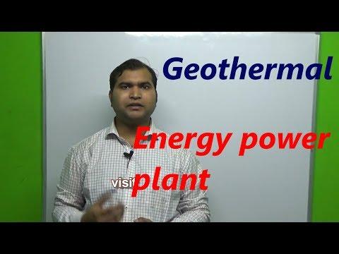 geothermal power plant in hindi