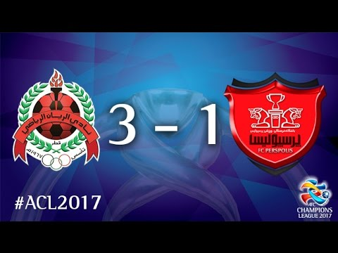 Al Rayyan vs Persepolis (AFC Champions League 2017 : Group Stage - MD3)