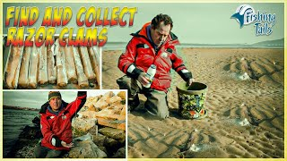 How to collect Razor Clams and rig them as bait(, 2015-03-24T19:39:32.000Z)