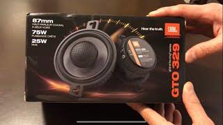 Video Unboxing JBL /GTO 329 Car Speakers download MP3, 3GP, MP4, WEBM, AVI, FLV Desember 2017