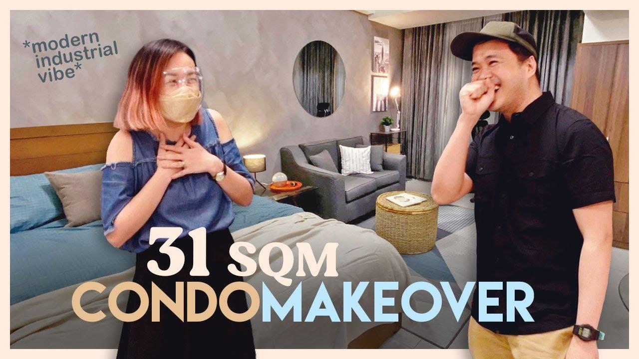P50,000 Studio Condo Makeover 🤩 // How I Plan for a Budget Makeover❓