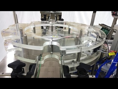 Burn-in Test for Rotary capping machine robot caps-given for Canadian Botellas que tapan la máquina