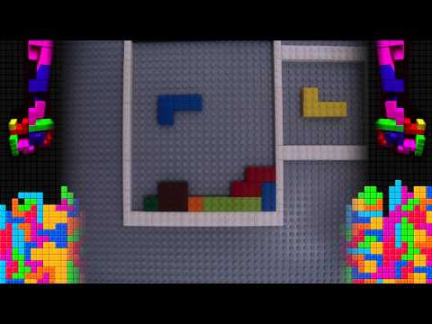 Stop Motion Tetris LEGO Music Video