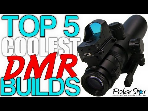 Top 5 Coolest DMR Builds - Episode: 2 (Airsoft Countdown)