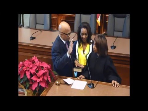 City of Columbia Swearing-In Ceremony: December 29, 2015