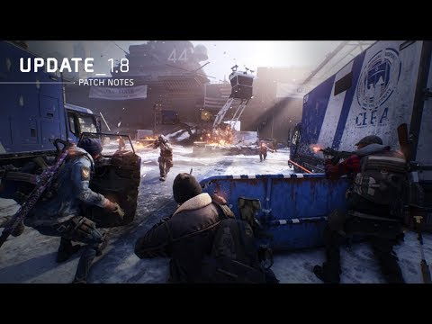 The Division | 1.8 Patch Notes Overview & Analysis