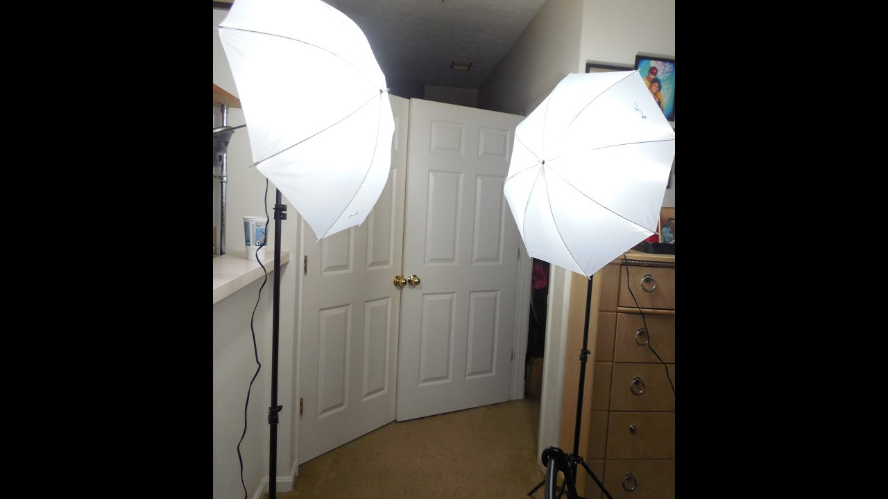 Soft Studio Lighting Kit: Photography Photo Studio Soft Umbrella Lighting Kit