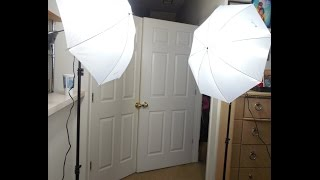 Photography Photo Studio Soft Umbrella Lighting Kit screenshot 4