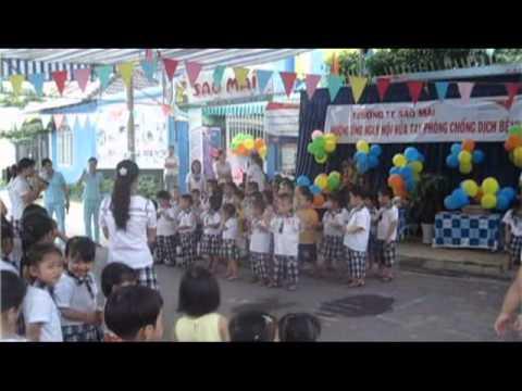 Ngày hội rửa tay - trường mầm non tư thục Sao Mai Quận 8