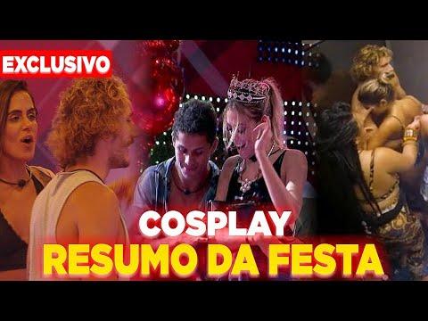 BBB19: Resumo da Festa COSPLAY, ('Barraco' , 'Revelações' , 'Participante passando mal') Veja TUDO!