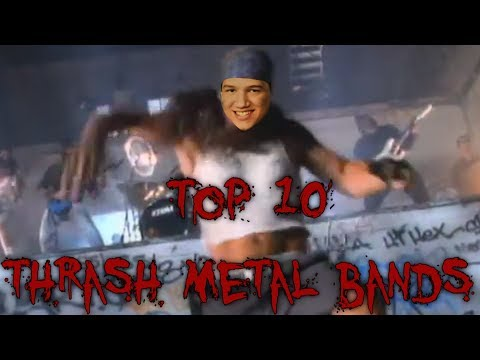 Top 10 Thrash Metal Bands