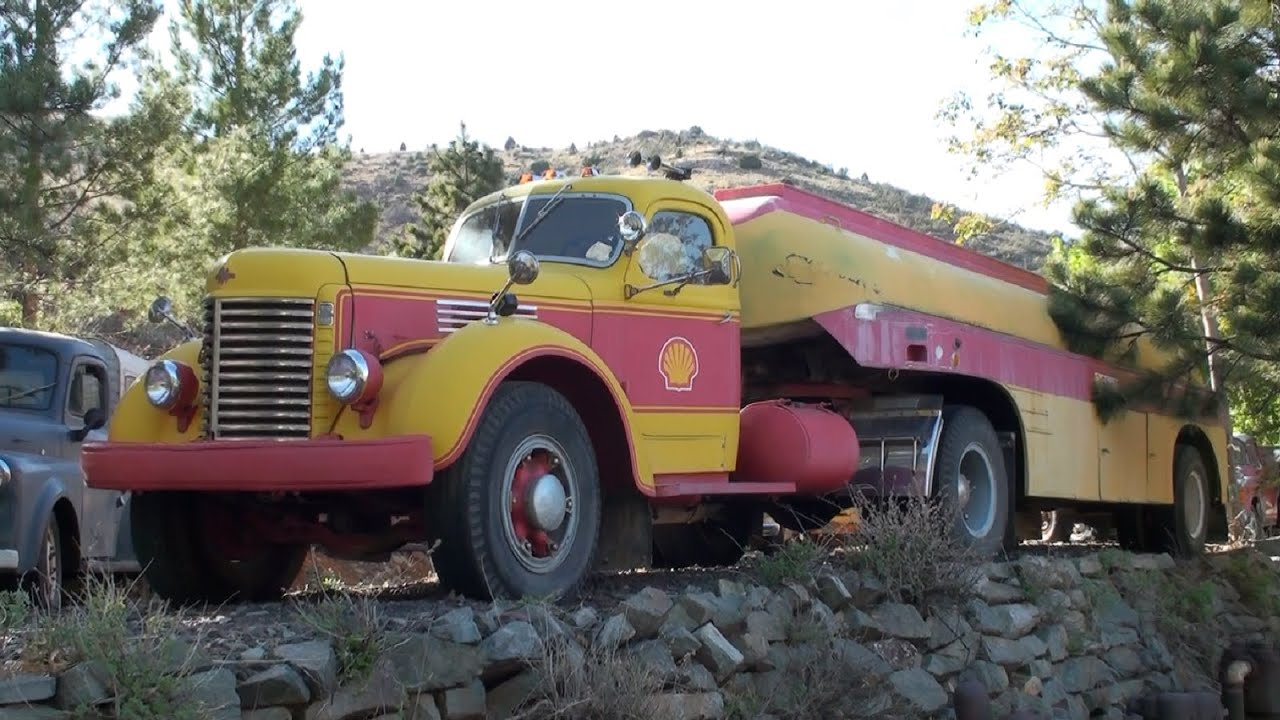 Antique Trucks at Gold King Mine & Ghost Town - YouTube