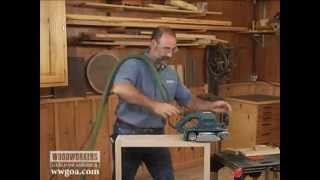 Woodworking  Tips : Woodworking Techniques Power Tools Belt Sander