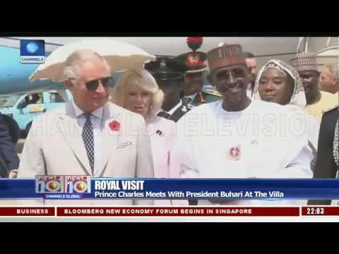 Nigeria-UK Relations: Prince Charles Meets Buhari,Traditional Rulers