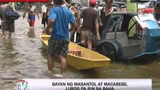 Several Pampanga towns still flooded