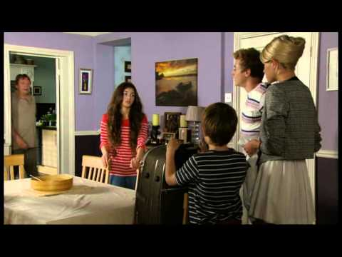 Eastenders Cindy Williams thrown out by Peter Beale saved by Ian Beale