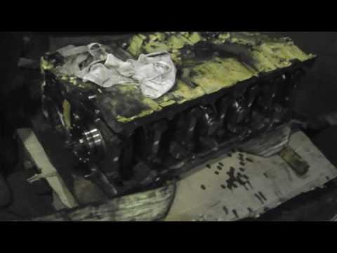 #11. Капитальный ремонт двигателя Caterpillar C15. Сборка.