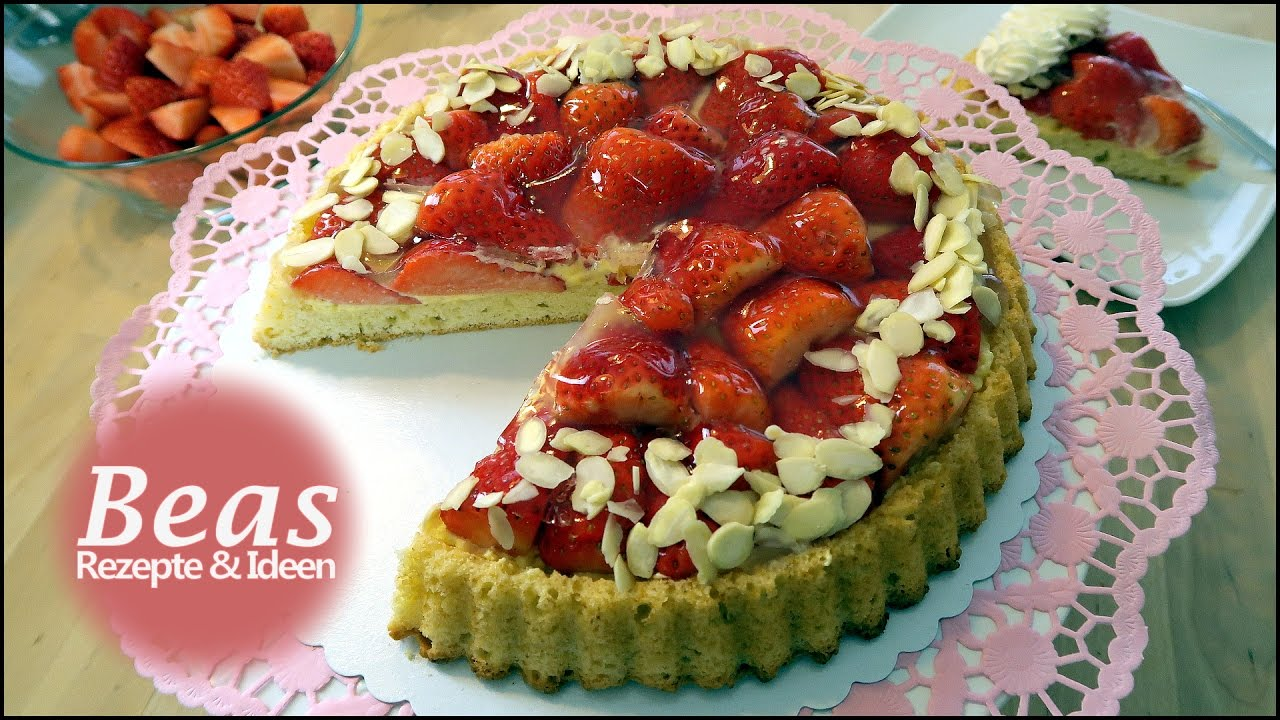 Tortenboden Rezept Obstboden Backen Mit Erdbeeren Einfach Selber