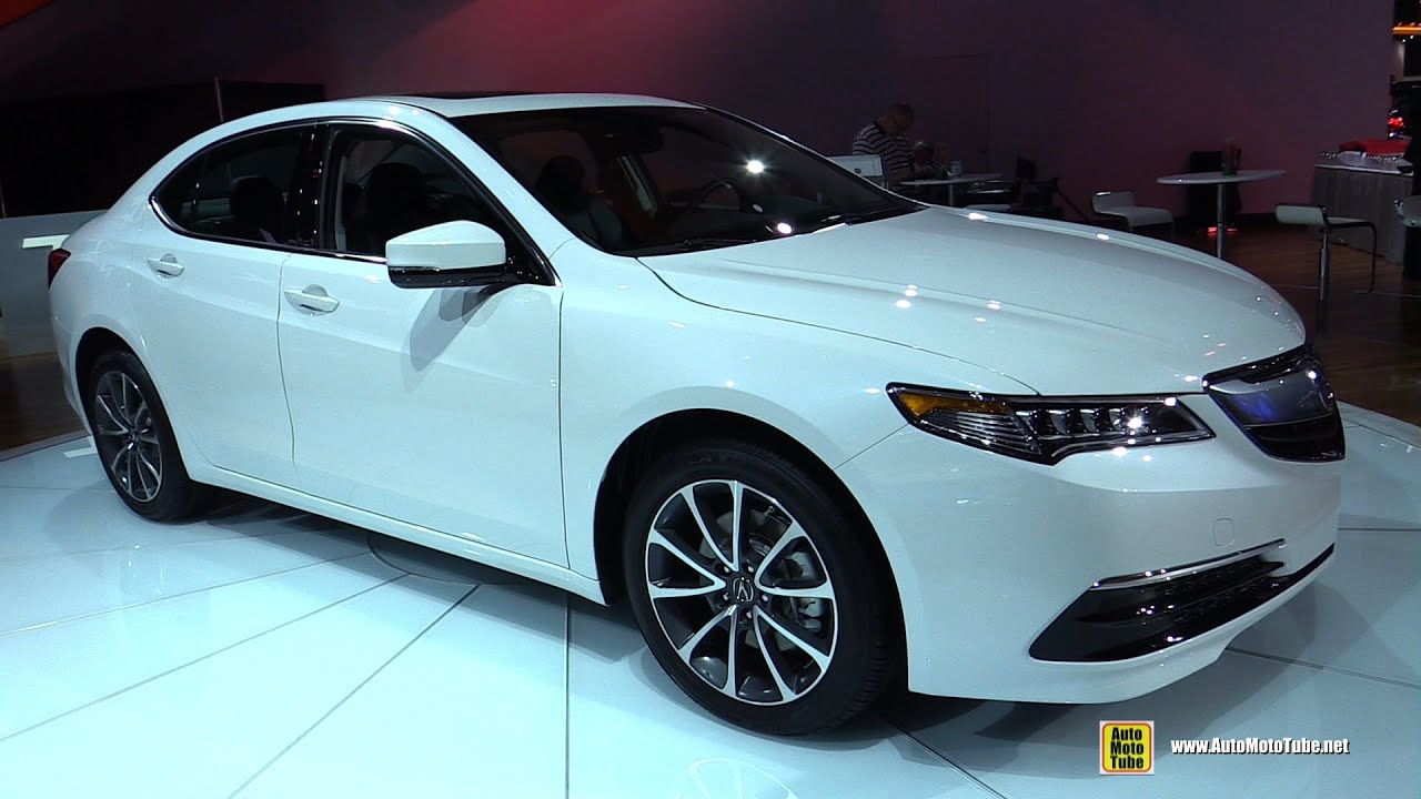 2015 Acura TLX   Exterior And Interior Walkaround   2015 Detroit Auto Show    YouTube Amazing Ideas