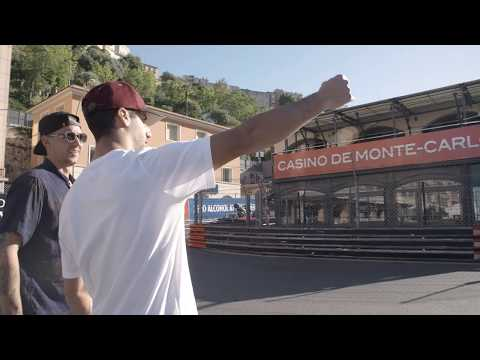 Daniel Ricciardo cruising around Monaco with Donut Media