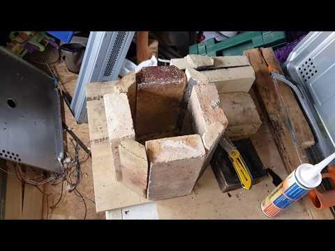 DIY kiln/furnace - first part