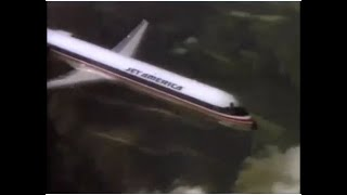 1987 Jet America Airlines Commercial