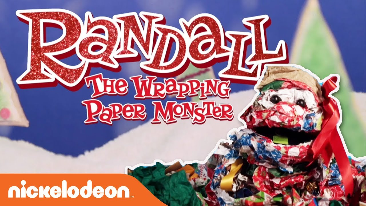 ORIGINAL RAP 🎁 Randall The Wrapping Paper Monster | Holiday & Christmas Song | Nick