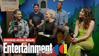 'Arrow' Stars Stephen Amell, Katie Cassidy & Cast Join Us LIVE | SDCC 2019 | Entertainment Weekly