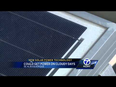 New Solar Power Technology: Could Get Power on Cloudy Days