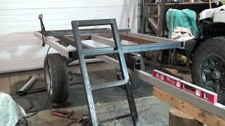 Прицеп для квадроцикла, самосвал, съёмно-откидной борт (1 серия).