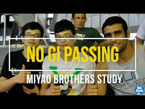 BJJ Scout: Miyao No Gi Passing Study - Bodylock Passing & Weaves