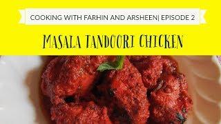 Masala Tandoori chicken Without Oven