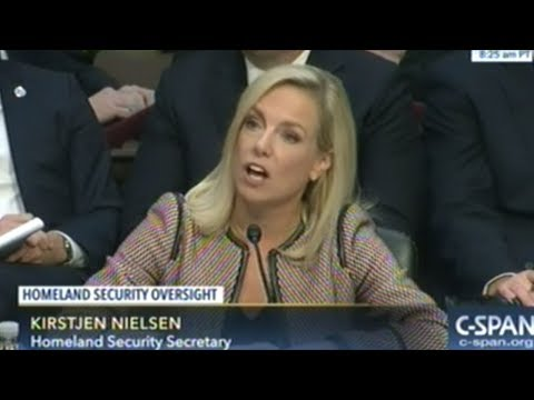 Secretary Of Homeland Security Grilled On President Trumps Vulgar Comments O Immigration