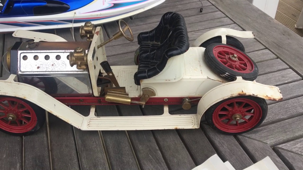 Hunting For Treasure At A Car Boot Sale Yard Sale Mamod Steam Car