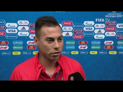 Eduardo VARGAS Post-Match Interview - Match 8: Germany v Chile - FIFA Confederations Cup 2017